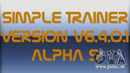 Simple Trainer Version v6.4.0.1 alpha 5 pour GTA 4