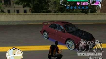 Subaru Impreza WRX STI für GTA Vice City