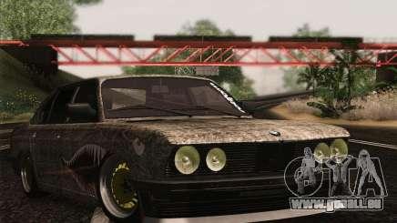 BMW E28 525E RatStyle für GTA San Andreas