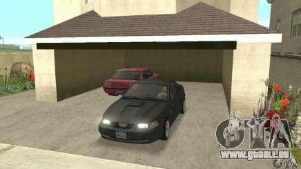 Ford Mustang GT 1999 (3.8 L 190 hp V6) für GTA San Andreas