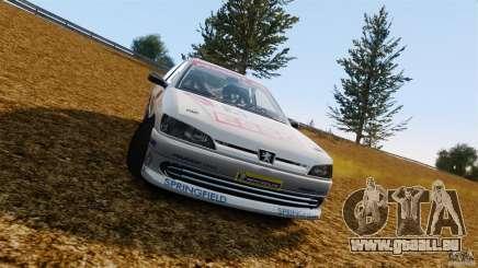 Peugeot 306 Gr. N Rally für GTA 4