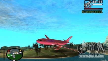 Airbus A-310 S7 SanFierroAir pour GTA San Andreas