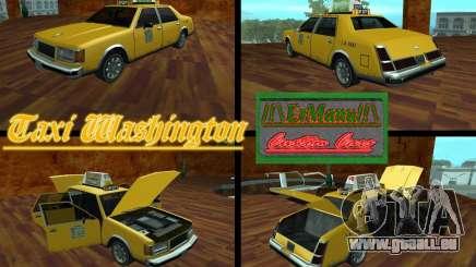 Taxi Washington für GTA San Andreas