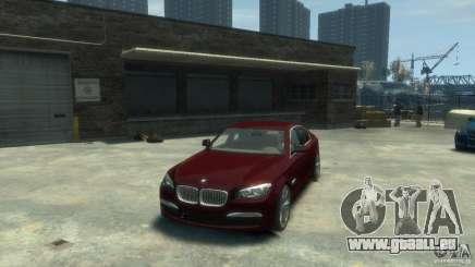 BMW 750i (F01) pour GTA 4