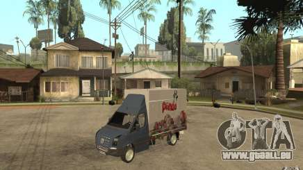 Volkswagen Crafter Ice Dream Box für GTA San Andreas