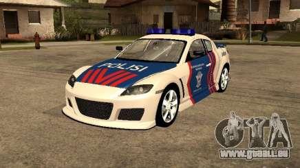 Mazda RX-8 Police für GTA San Andreas