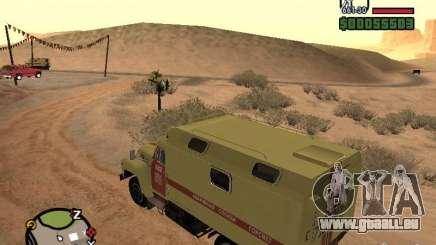 ZIL 130 Gorsvet de ronde de nuit pour GTA San Andreas