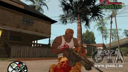 BulletStorm M4 für GTA San Andreas