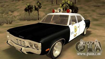 AMC Matador SA Police 1971 Final für GTA San Andreas