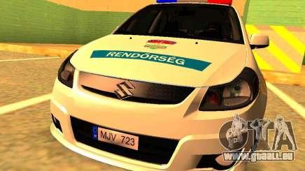 Suzuki SX-4 Hungary Police für GTA San Andreas