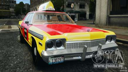 Dodge Monaco 1974 Taxi v1.0 pour GTA 4