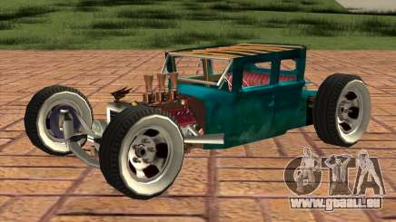 Ford model T 1925 ratrod für GTA San Andreas