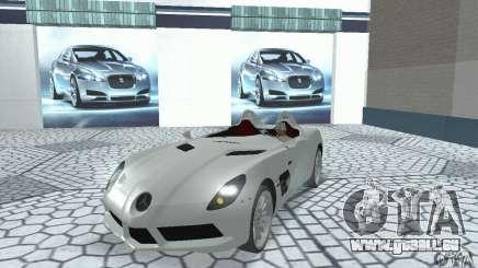 Mercedes-Benz SLR Moss 2008 für GTA San Andreas