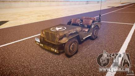 Walter Military (Willys MB 44) v1.0 pour GTA 4