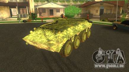 BTR-80 électronique camouflage pour GTA San Andreas