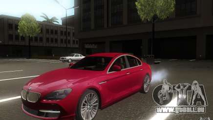BMW 6 Series Gran Coupe 2013 für GTA San Andreas