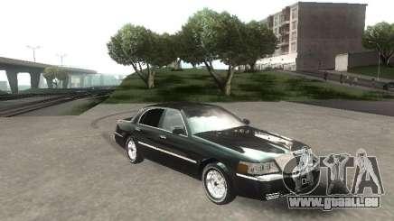 Lincoln Town car sedan für GTA San Andreas