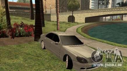 Mercedes-Benz S600 w200 pour GTA San Andreas