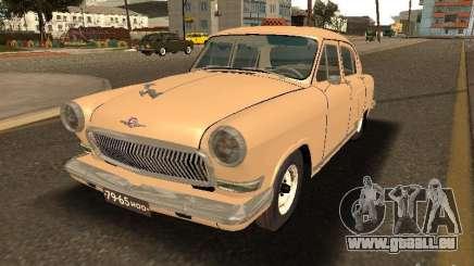 GAZ Volga 21 Taxi pour GTA San Andreas