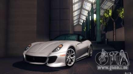 Ferrari 599 GTO 2011 pour GTA San Andreas