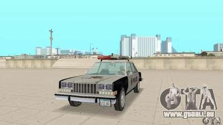 Dodge Diplomat 1985 Police für GTA San Andreas
