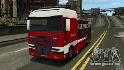 DAF XF Firetruck pour GTA 4