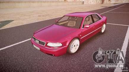 Audi A8 6.0 W12 Quattro (D2) 2002 pour GTA 4