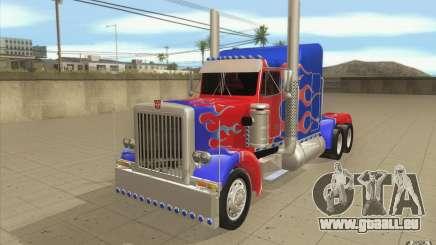 Peterbilt 379 Optimus Prime für GTA San Andreas