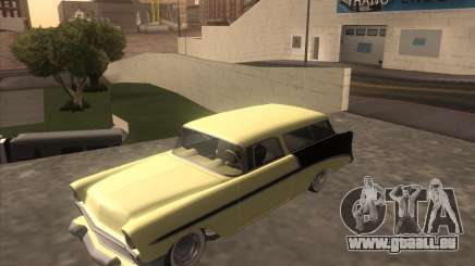 Chevrolet Bel Air Nomad 1956 custom pour GTA San Andreas