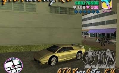 Lotus Esprit V8 v1.2 pour GTA Vice City