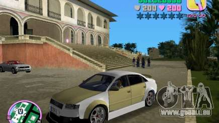 Audi S4 Tuned pour GTA Vice City