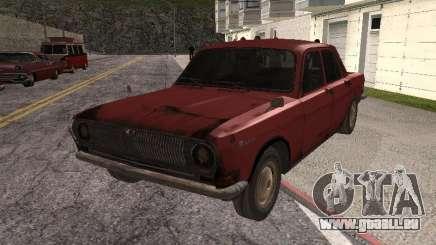 Volga Gaz M24-Rusty Tod für GTA San Andreas