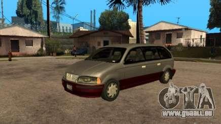 HD Blista für GTA San Andreas