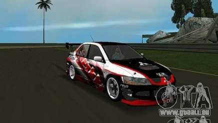 Mitsubishi Lancer Evo VIII pour GTA Vice City