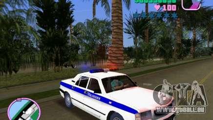 Volga Gaz 3110 Police für GTA Vice City