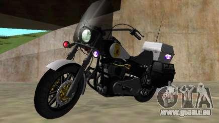 Harley Davidson Dyna Defender für GTA San Andreas