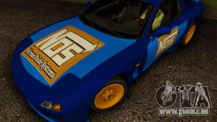 Mazda RX7 Nos pour GTA San Andreas