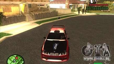 BMW 535 avec otpadnym tuning pour GTA San Andreas