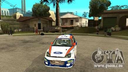 Ford Focus WRC 2002 pour GTA San Andreas
