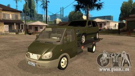 GAZ 3302 v 1.2 (Gazelle dépanneuse) pour GTA San Andreas