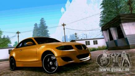 BMW 135 Tuning pour GTA San Andreas