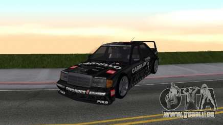 Mercedes-Benz 190E Racing Kit1 pour GTA San Andreas