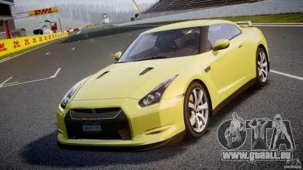 Nissan GT-R R35 2010 v1.3 für GTA 4