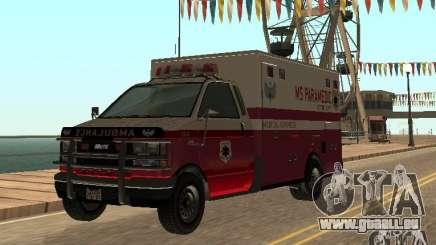 Ambulance de GTA 4 pour GTA San Andreas