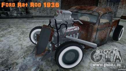 Ford RatRoad 1936 für GTA 4