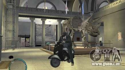 Vyatka moteur scooter pour GTA 4