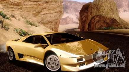 Lamborghini Diablo VT 1995 V3.0 pour GTA San Andreas