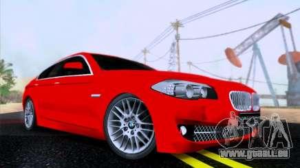 BMW 550i 2012 pour GTA San Andreas