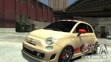 Fiat 500 Abarth Esseesse V1.0 pour GTA 4