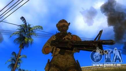 Das Maschinengewehr M60E4 für GTA San Andreas